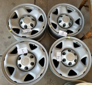 16 Toyota Tacoma Oem Factory Stock Wheels Rims Steel Freeshipping