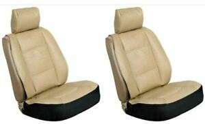Signature Sideless Lower Bucket Seat Cover Std Size Seats Tan Universal Pair