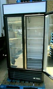 2 Glass Door Display True Freezer Gdm 35f W Sliding Doors Used And Tested