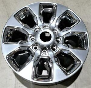 2019 Dodge Ram 2500 3500 20 Wheel Hyper Gray With Chrome Inserts Oem 6mh98trmaa