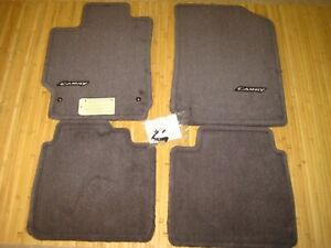 Toyota Camry Gray Floor Mats W Clips Oem Gray 2007 2011 Expedited Shipping