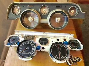 1967 67 Ford Mustang Speedometer Dash Gauges Cluster Harness Instrument