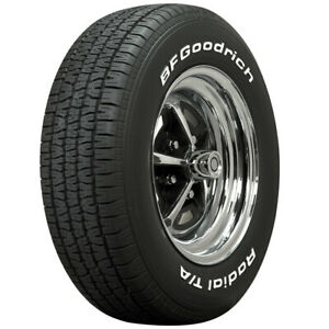 225 70r15 Bf Goodrich Radial T A Tires White Letter Free Shipping