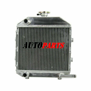 Oem Sba310100211 Aluminum 3 Row Tractor Radiator W cap For Ford Capacity 1300