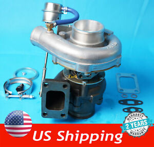 T3 T4 T04e V Band Turbocharger Turbo 63 A R 5a R Internal Wastegate Universal