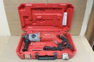 Milwaukee Sds 1 Rotary Hammer Drill 5262 21 With Handle And Hard Case