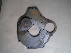 Austin Healey Sprite Mg Midget 1275 Rear Engine Plate Wi Oil Pump Cover