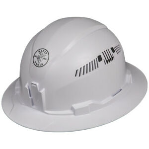 Klein Tools 60401 Vented Full Brim Style Hard Hat