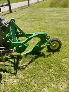 John Deere 1 Bottom Turning Plow 3 Pt Hitch Free Shipping