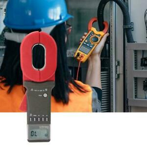 Etcr2000a Digital Clamp On Ground Earth Resistance Tester Meter 0 01 200