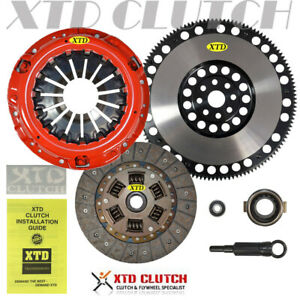 Xtd Stage 2 Clutch Kit racing Flywheel For Baja Forester Xt Outback Ej255 2 5l