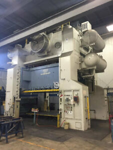2 000 Ton Capacity Danly Straight Side Press