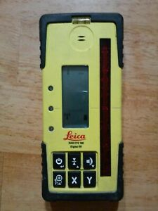 Leica Rod Eye 180 Receiver Rugby Laser Levels Working