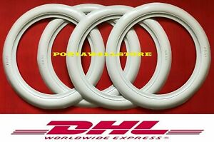2 Side View White Wall Wide Tire Trims Port A Wall Set 15 Wheel Tire 311