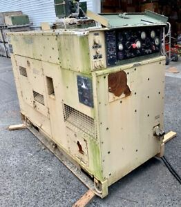 Mep 816a 400hz 60kw Avionics Ground Power Quiet Diesel Generator Deere 6059t