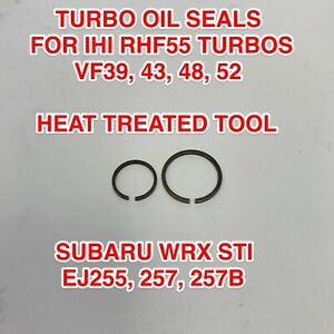 Vf48 Turbo Oil Seals Piston Rings For Ihi Vf39 Vf43 Vf52 Ej257 Subaru Wrx Sti