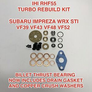 Vf48 Turbo Rebuild Kit Upgrade For Ihi Vf39 Vf43 Vf52 Vf37 Vf49 Subaru Wrx Sti