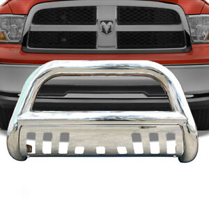 For 2006 2007 2008 Dodge Ram 1500 Bull Bar Skid Plate Front Bumper Grille Guard
