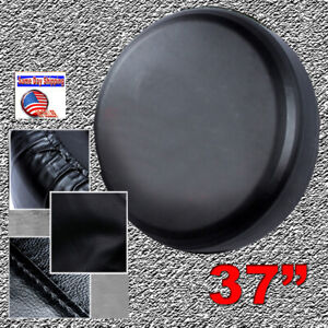 19 Spare Tire Cover 315 70r17 For Jeep Hummer H2 Black Heavy Duty Vinyl 34 36