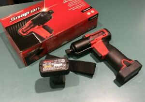 Snap On Ct761aqcdb Tools Cordless Impact Driver Kit 14 4 Microlithium X2 Battery