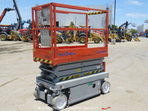 2006 Skyjack Sjiii3219 19 Electric Scissor Man Lift Aerial Work Platform