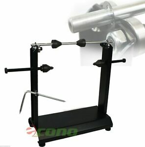 Motorcycle Bike Wheel Balancer Rim Tire Balancing Spin Static Truing Stand