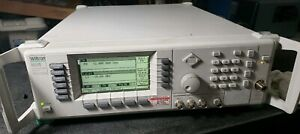 Anritsu 68245b Synthesized Signal Generator 500 Mhz 20 Ghz Option 2a 8 16