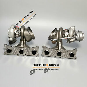 Td04 Billet 6 6 States 2 Twin Turbo Charger Bmw E90 E92 E93 135i 335i N54 535i