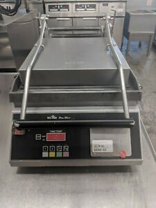 Star Panini Grill Flat Burners With Electronic Controls 240v Gr14e
