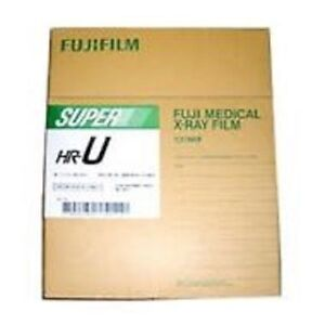 8x10 Hru Fuji Green Hr u X ray Film Free Shipping