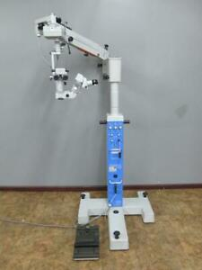 Carl Zeiss Opmi 6 sfr Ophthalmic Operating Surgical Microscope S3b Stand S3 6sfr