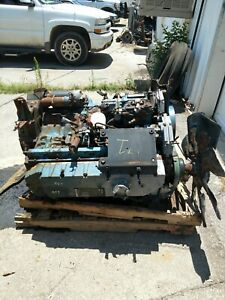 1999 International Dt466e 250 Hp Running Take Out