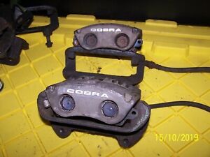 94 04 94 98 99 04 Ford 2004 Mustang Cobra Svt Front Brake Calipers And Brackets