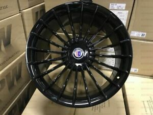 20 Staggered B7 Alpina Style Black Rims Fits Bmw 7 Series 740 745 750 645 650