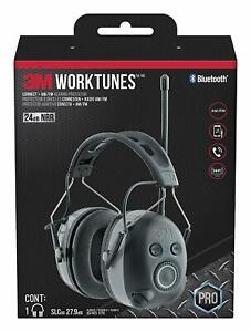 3m Worktunes Connect Am fm Hearing Protector With Bluetooth Technology