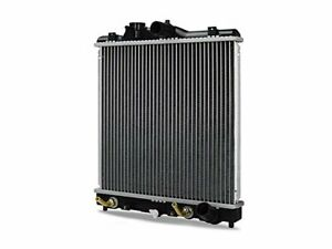 Center Radiator For 92 98 Honda Civic Del Sol 1 5l 4 Cyl 1 6l Cx Ex Lx Dx Wr45c5