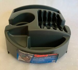 Choice Organizer Rubber Queen Car Truck Universal Cup Holder Console Gray Nos