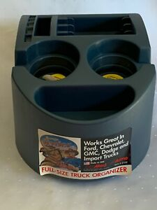 Range Ryder Full Size Truck Organizer Allied Plastic Cup Holder Console Nos Usa