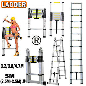 En131 330lb Multi Purpose Step Platform Aluminum Folding Scaffold Loft Ladder