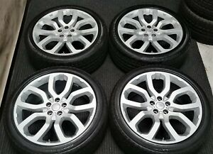 4 Factory Range Rover Supercharged 22 Oem Wheels Tires Hse Autobiography Rims