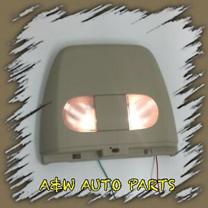 Tested 04 08 Ford F150 Tan Overhead Sliding Rail Console Map Dome Light X11