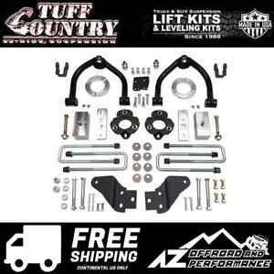 Tuff Country 4 Spacer Block Uca Lift Shock Ext Fits 2017 2019 Nissan Titan 4wd