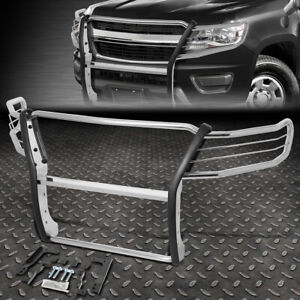 For 15 19 Chevy Colorado Stainless Steel Front Bumper Brush Grille Guard Frame
