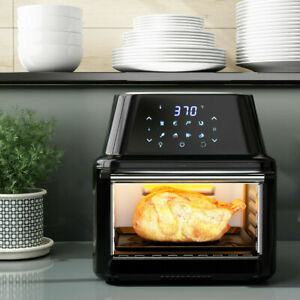 Power Air Fryer Oven All in one 16 Quart Plus Dehydrator Grill Rotisserie 16 9qt