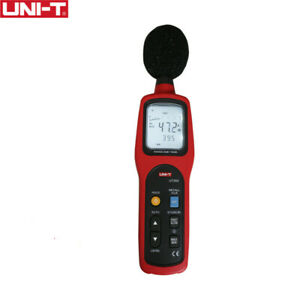 Unit Ut352 Sound Lever Meter Easy To Carry Noise 30 130db Max min Lcd Backlight