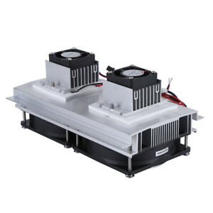 Us Plug Dual core Semiconductor Thermoelectric Peltier Refrigeration System