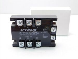 Crydom D53tp50d 3 phase 50a 530vac 3 32v Control Solid State Relay New In Box