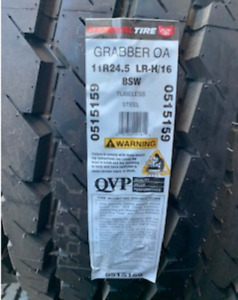 1 Tire Commercial Truck Tires 11r24 5 General Grabber 16 Ply