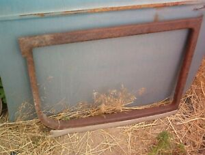 1923 Model T Closed Sedan Two Door Window Frame Trim Right