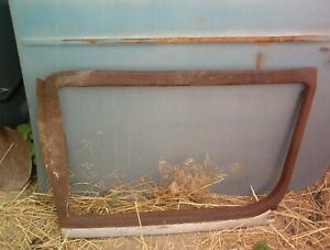 1923 Model T Closed Sedan Two Door Window Frame Trim Left